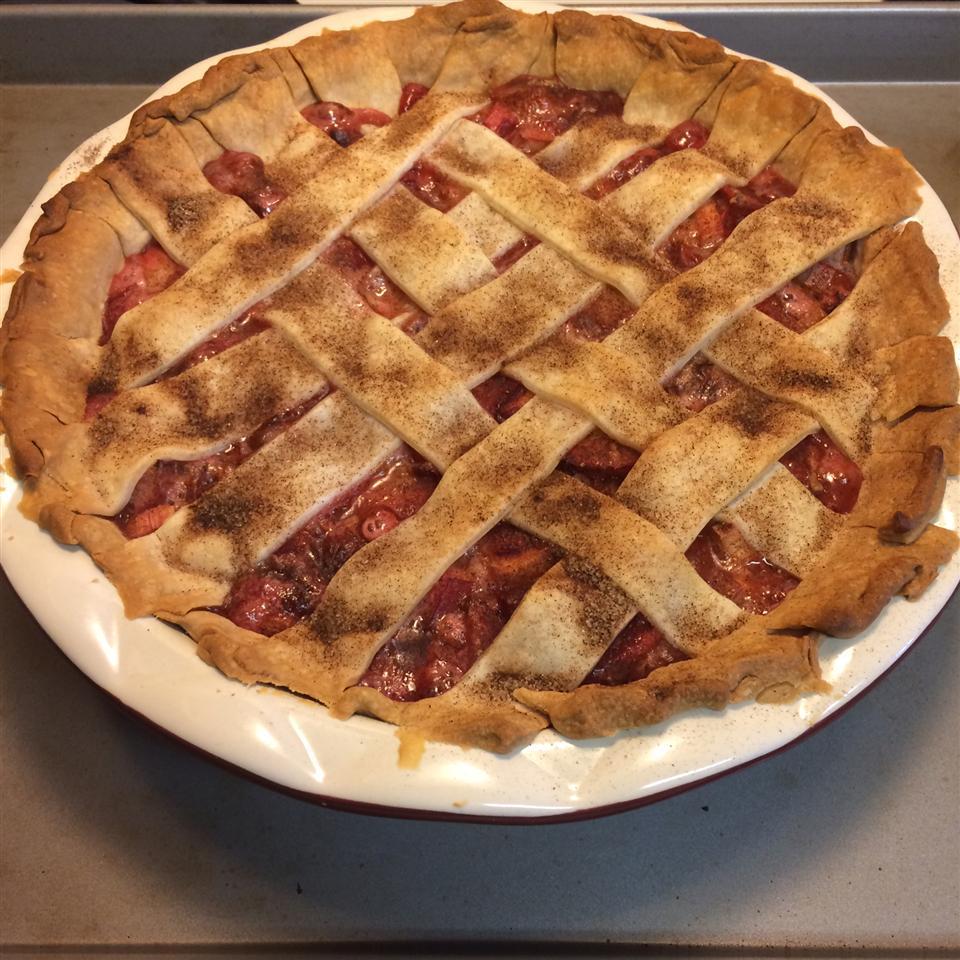 Summer Strawberry Rhubarb Pie Brian Platt