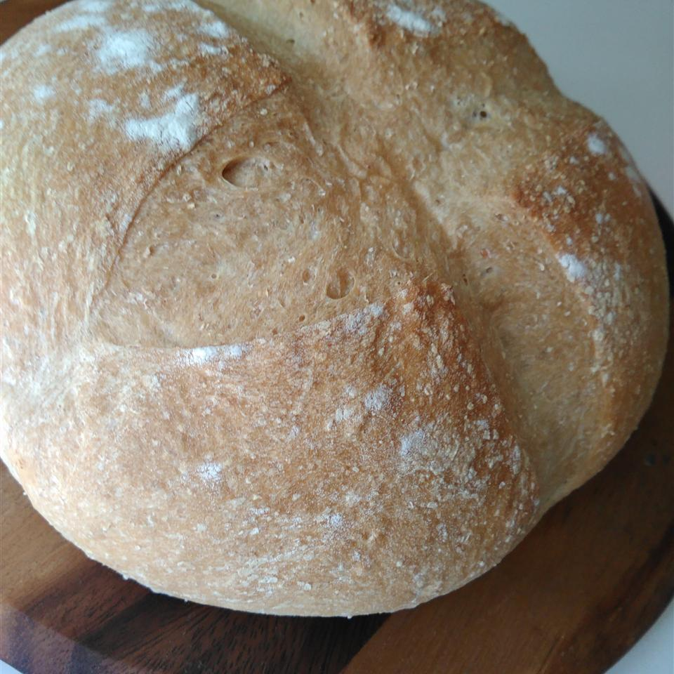 Rustic Whole Wheat Bread Jan Mowbray