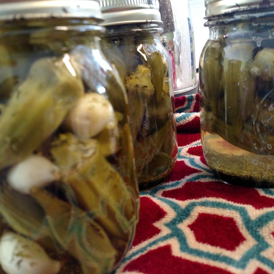 Grandma Oma's Pickled Okra