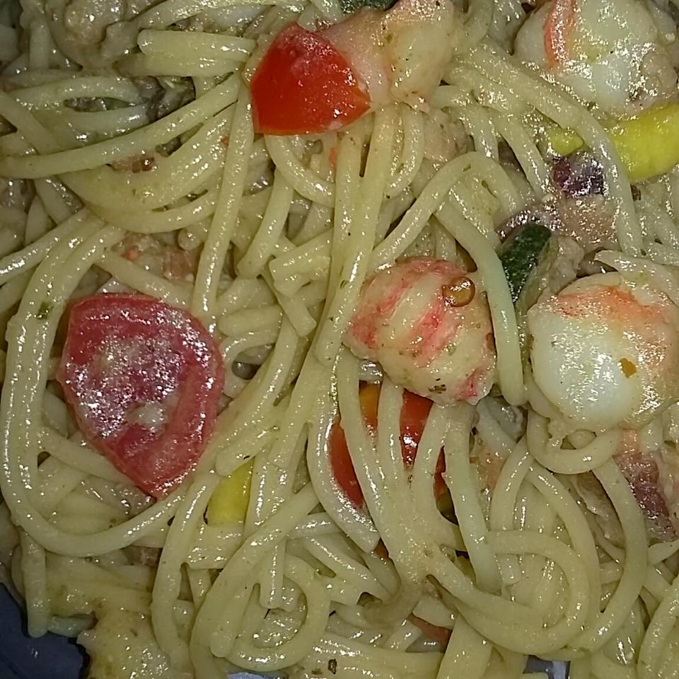 Amazing Shrimp and Langostino Lobster Linguine Nette