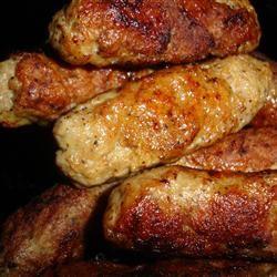 Mom's Turkey Sausage Patties