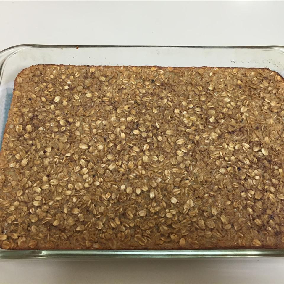 Baked Oatmeal with Cinnamon Griffin Hagle