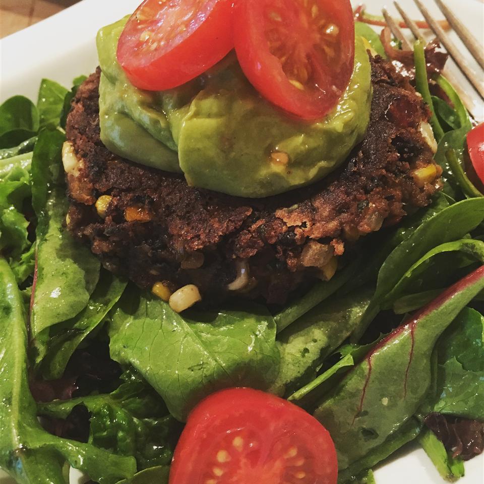 Spicy Black Bean and Corn Burgers Hamptons Fodie