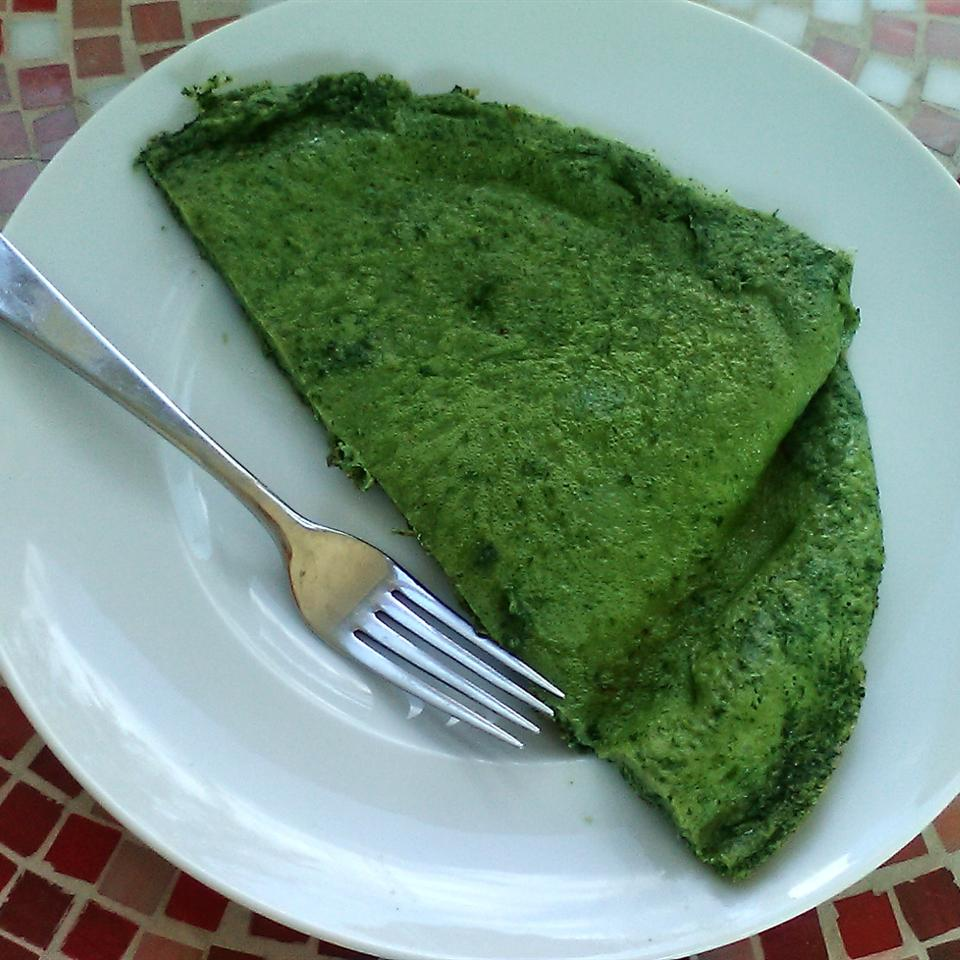 Spinach Pancake Rock_lobster