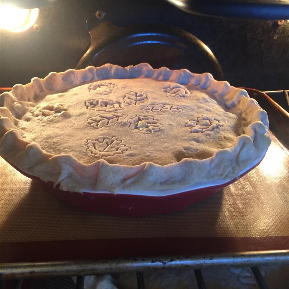 Rhubarb Custard Pie II
