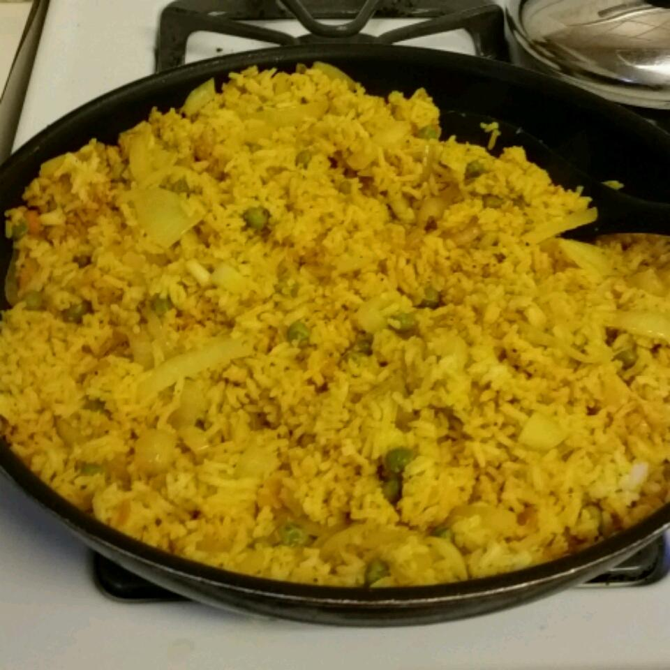 Tammy's Turmeric Rice Marianne Gregory