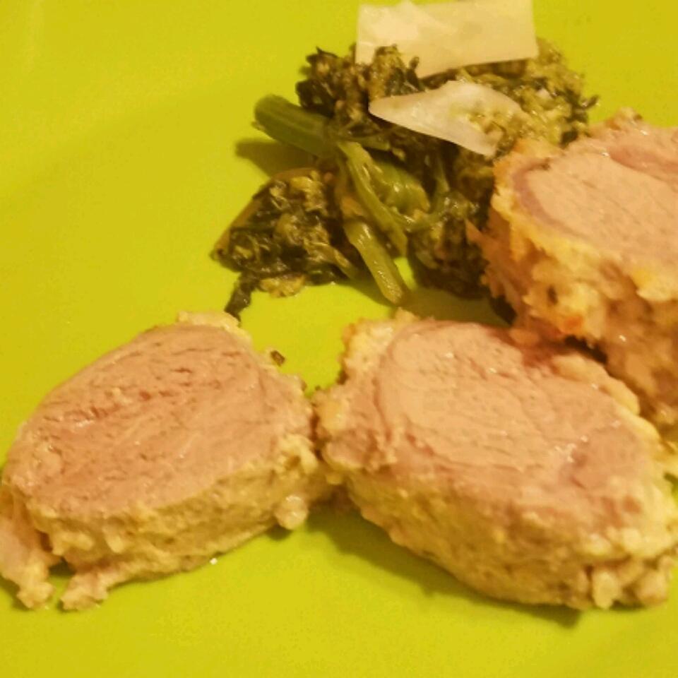 Parsley and Parmesan Crusted Pork Tenderloin Molly Stark Dean