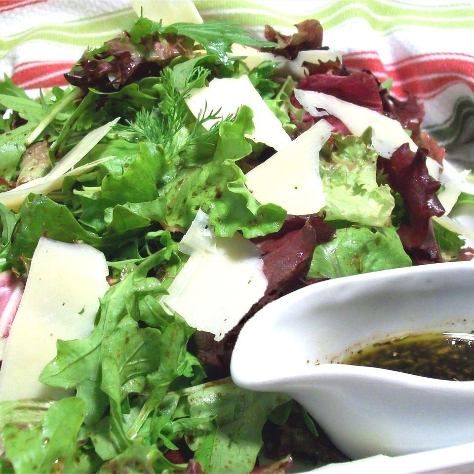 Simple Sicilian Salad Dressing