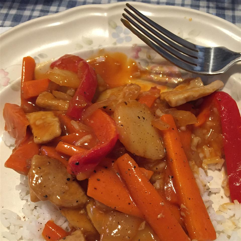 Sweet and Sour Pepper Pork Housyhousy2