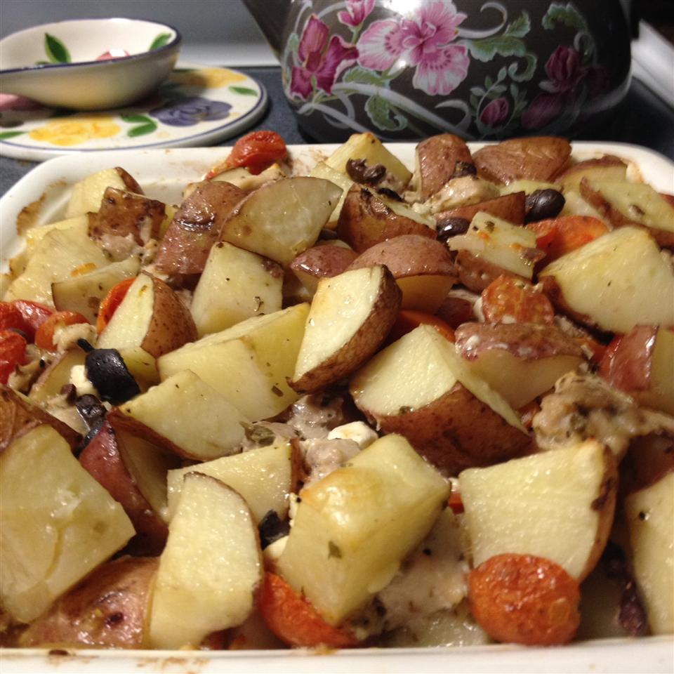 Greek Potato Casserole Erica