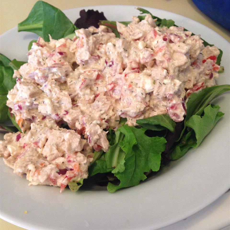 Feta Chicken Salad TawnyLee