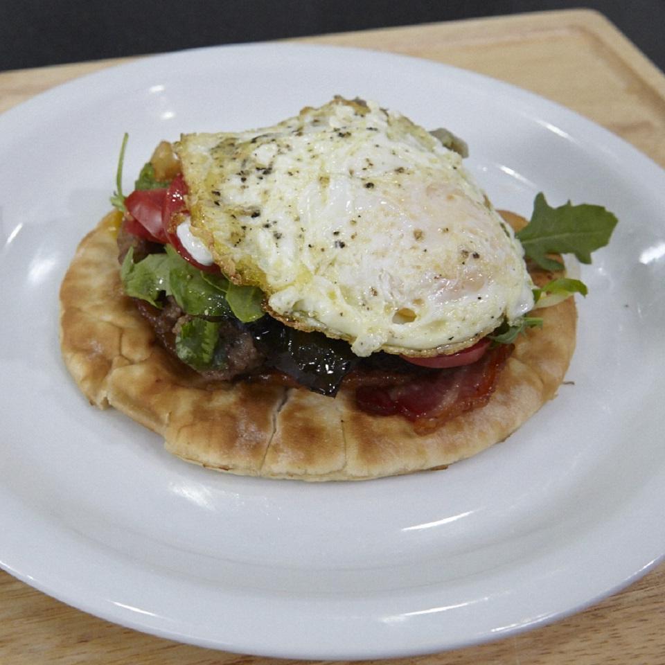 Cliff's Greek Breakfast Pitas Clifford Hutson
