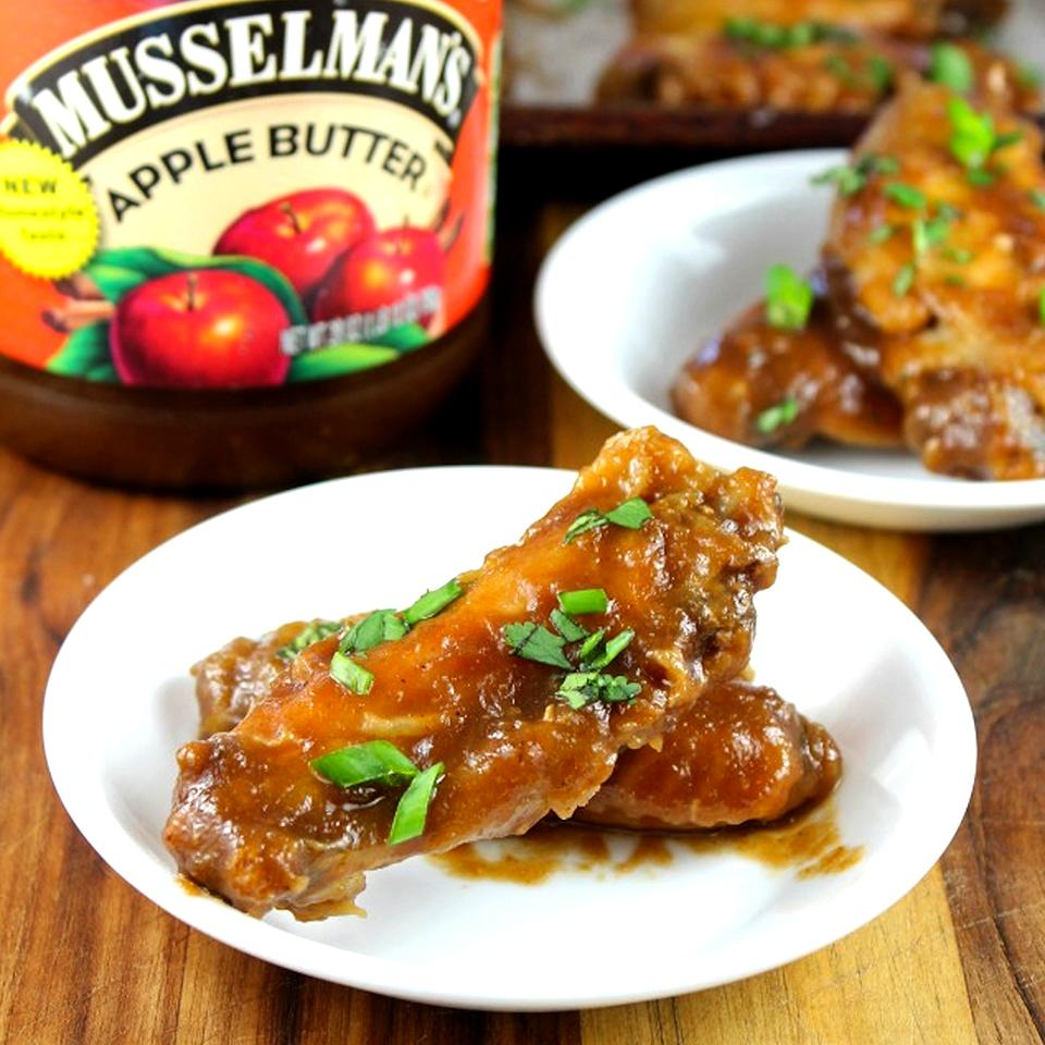 Game Day Asian Chicken Wings Musselman's® Apple Butter