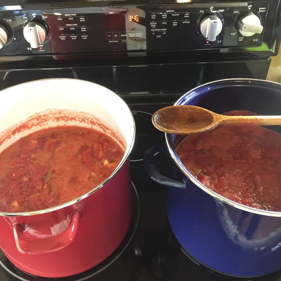 Fresh Tomato Chili Sauce Shirley Dowson