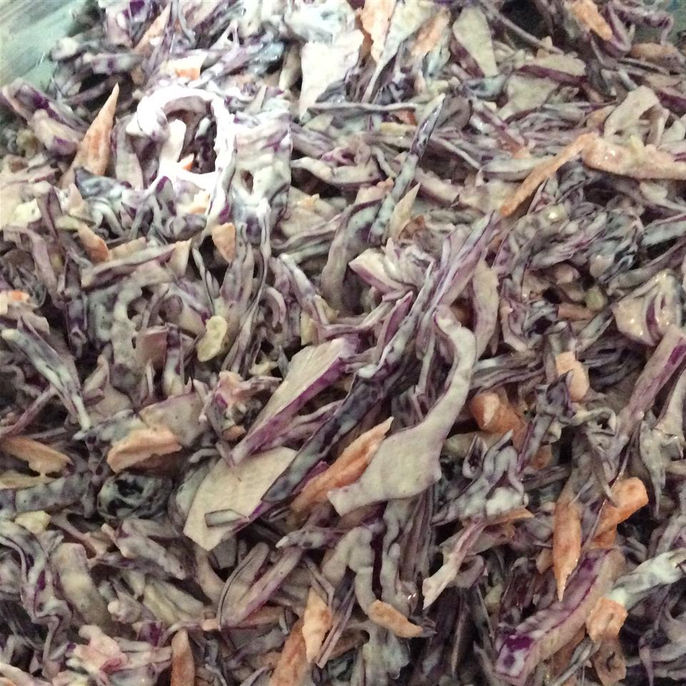 Red Cabbage Slaw Lily