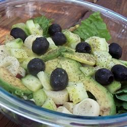 Green Salad with Dried Mint Mary Kathryn