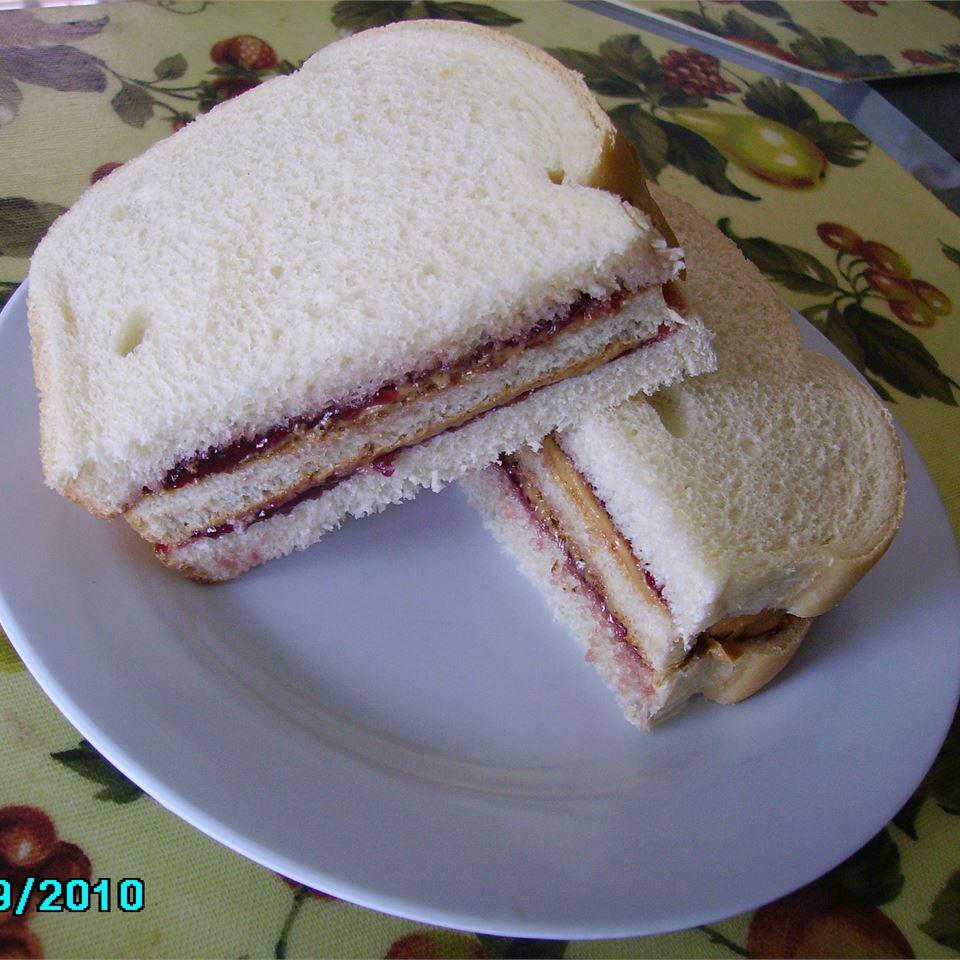 Ignacio's Super Peanut Butter and Jelly Sandwich