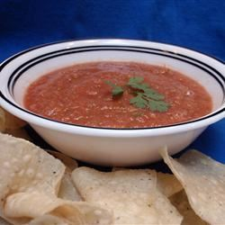 Roasted Tomato Salsa I Scotdog