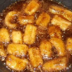Delicious Sweet and Buttery Bananas
