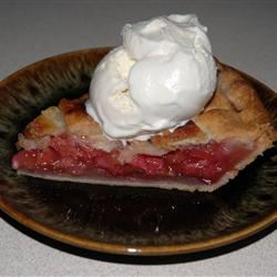 Rhubarb and Strawberry Pie NCwriter