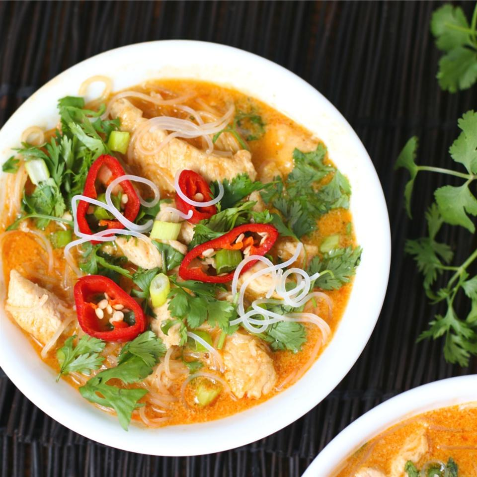 Five-Ingredient Red Curry Chicken