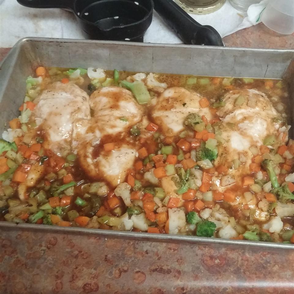 Chicken with Plum Glaze Amanda McDonald