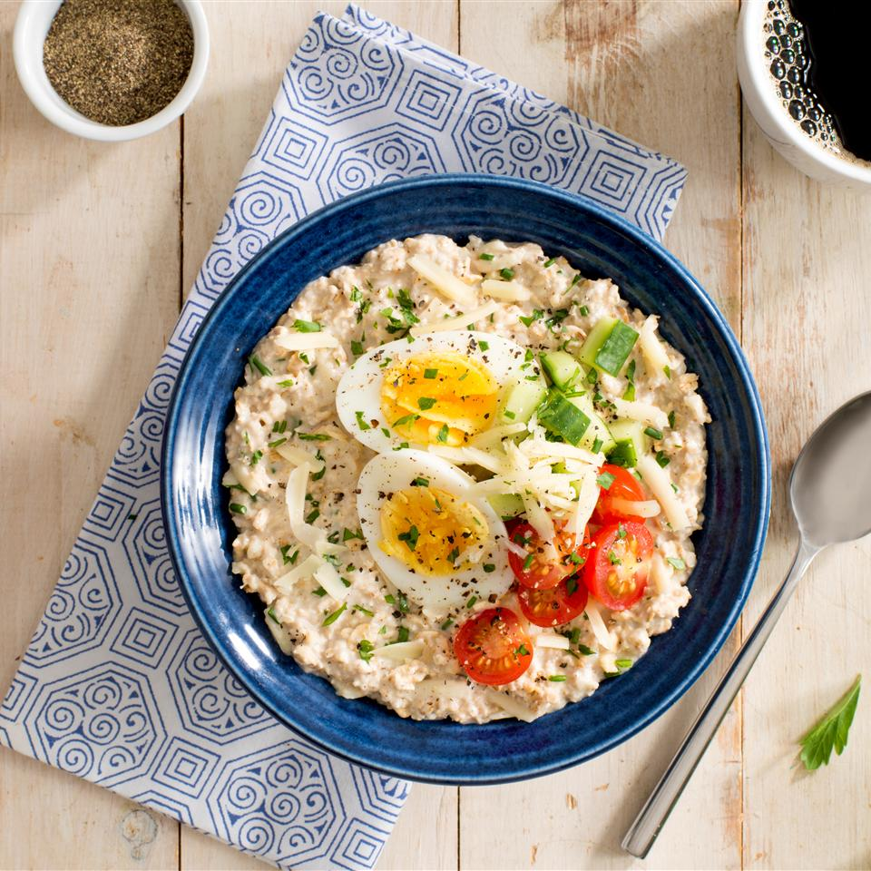 Quaker® Savoury Herb Oatmeal Trusted Brands