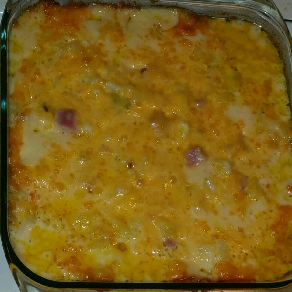 Cheesy Ham Potato Bake Jill Whitten Beardshear