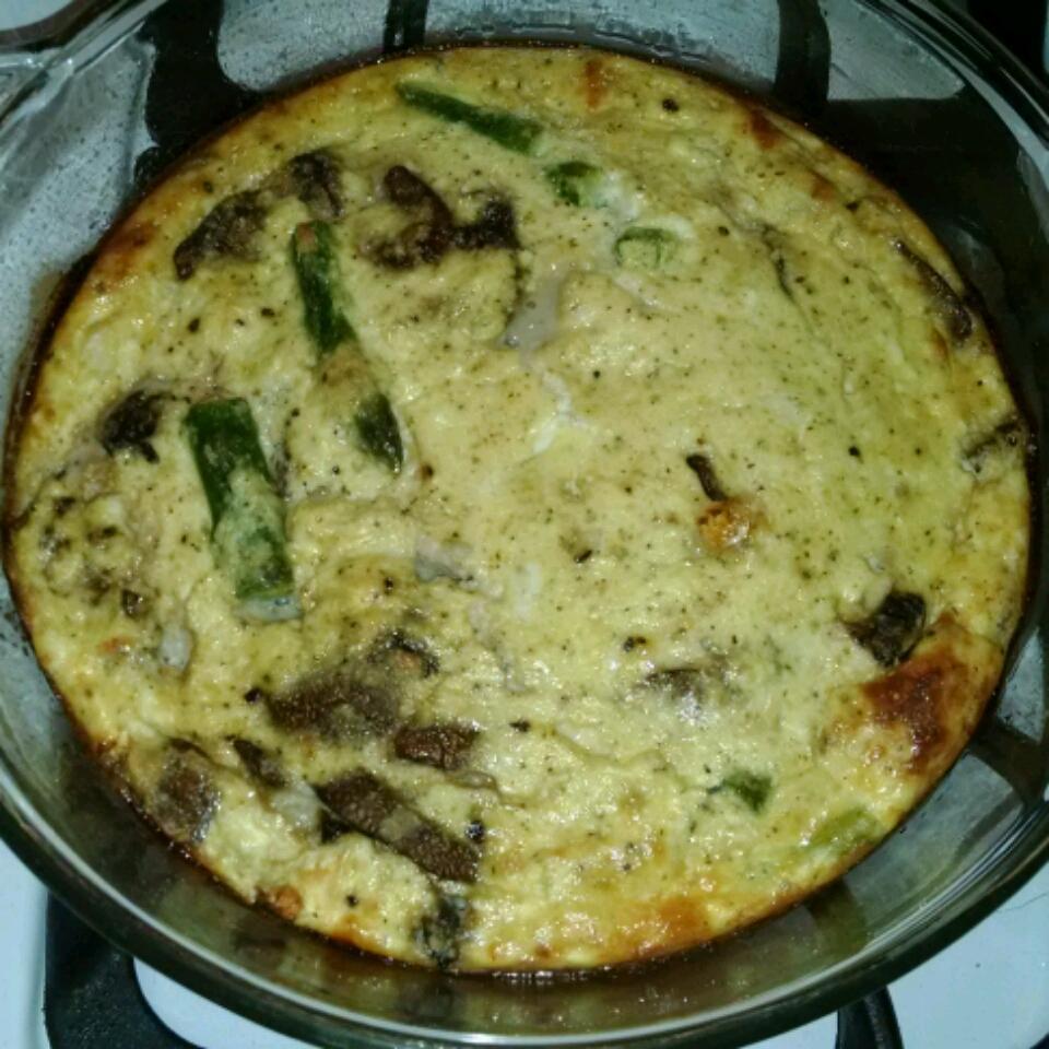 Spinach and Mushroom Frittata poodatkat