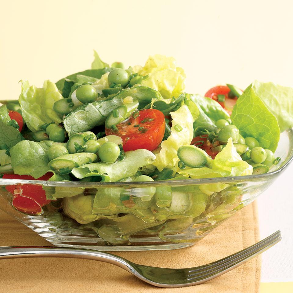 Green Salad with Asparagus & Peas (Salat med Asparges og rter) Joyce Hendley
