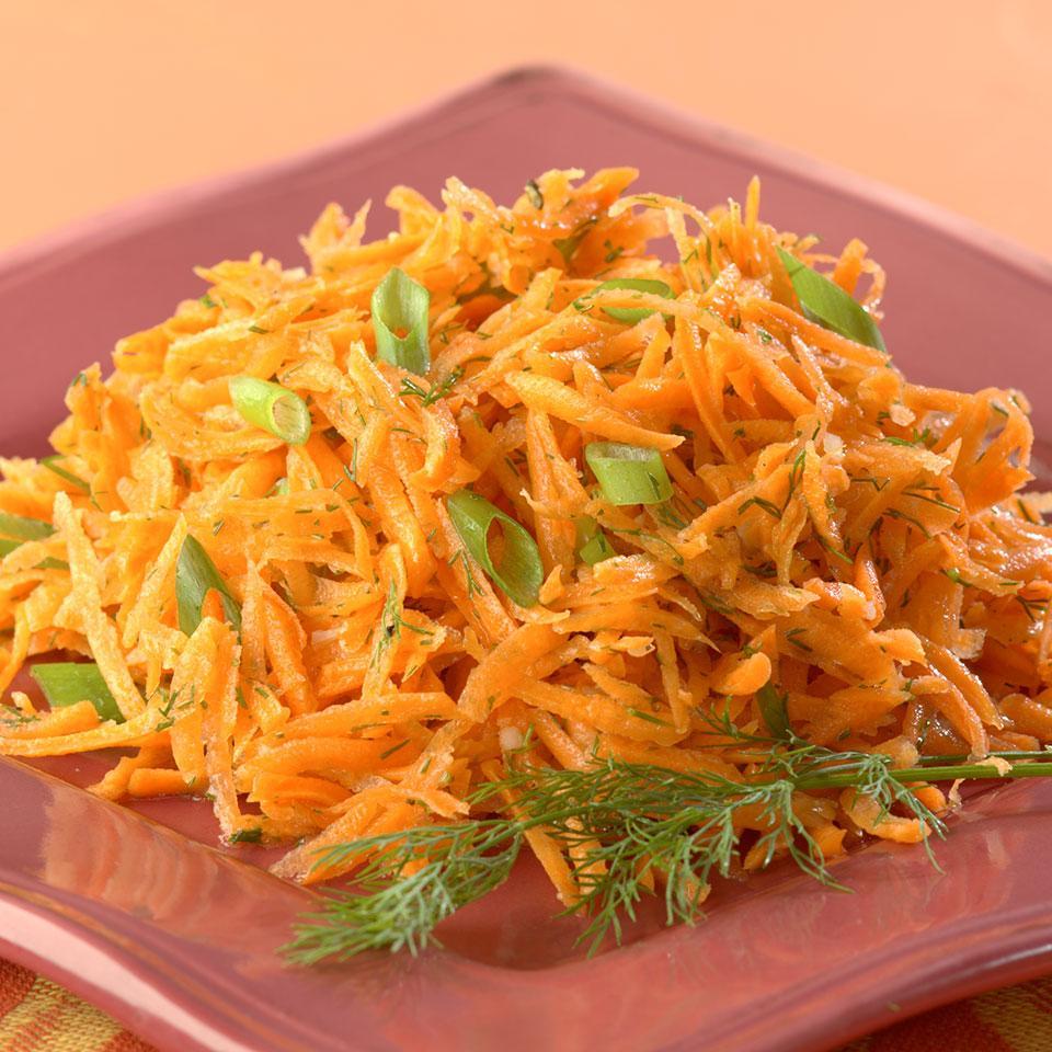 Lemony Carrot Salad EatingWell Test Kitchen