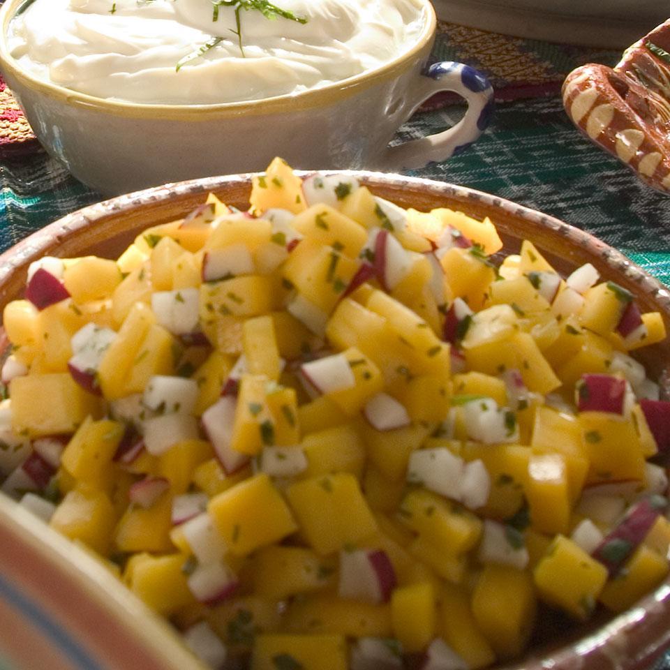 Mango-Radish Salsa Stacy Fraser