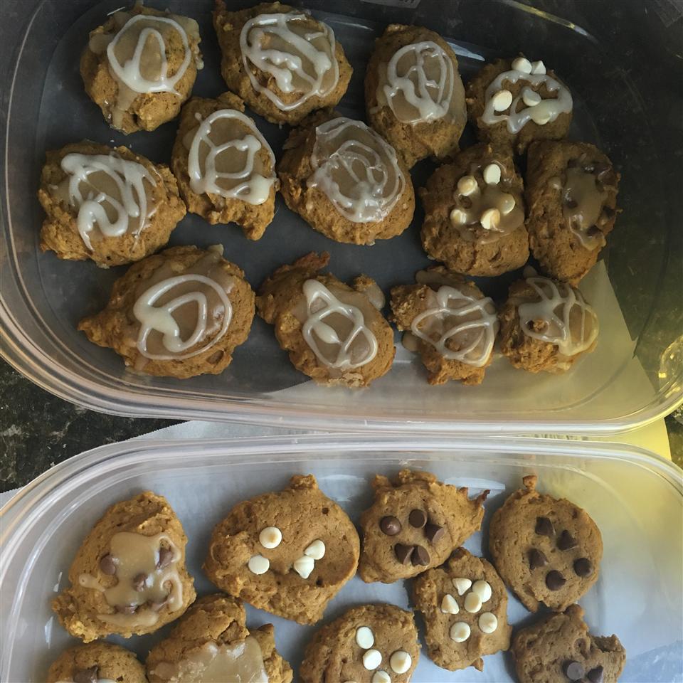 Pumpkin-Walnut Cookies Sarah Dodd