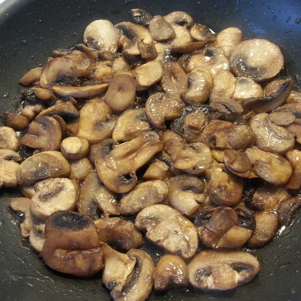 Mushrooms with a Soy Sauce Glaze Brian Ben