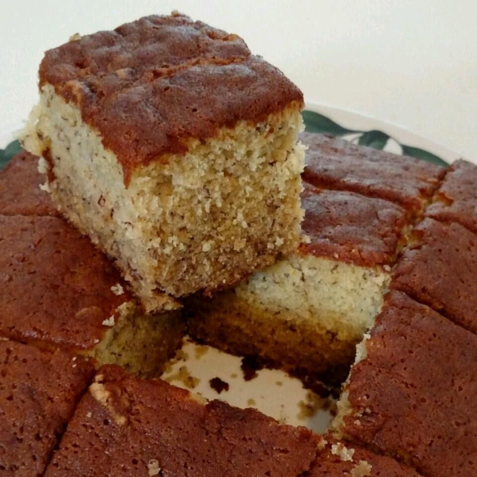 Simple Banana Coffee Cake