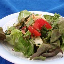 Italian Leafy Green Salad Scotdog