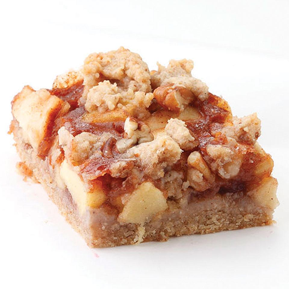 Apple-Cinnamon Fruit Bars EatingWell Test Kitchen