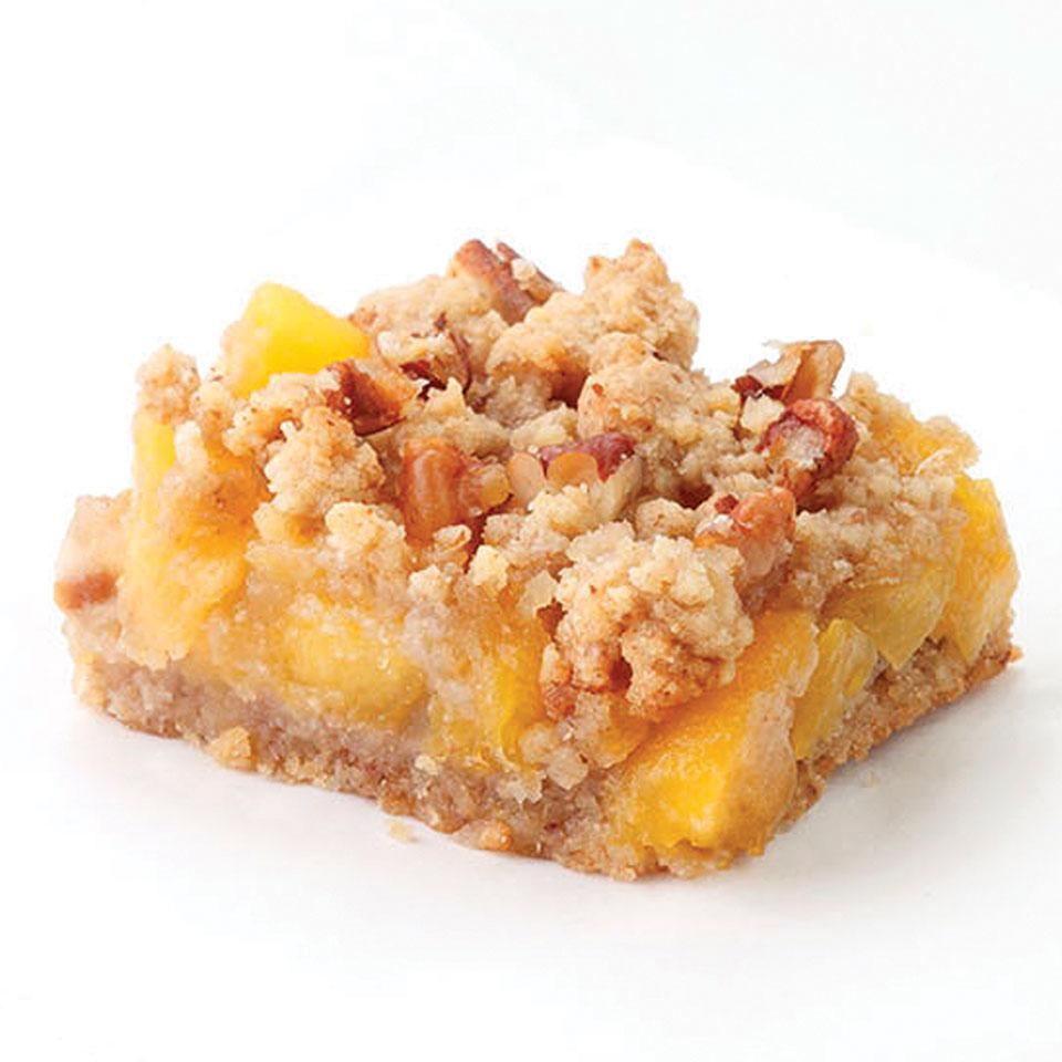 Try your favorite combination of stone fruit, such as peaches and cherries, in these easy fruit bars.