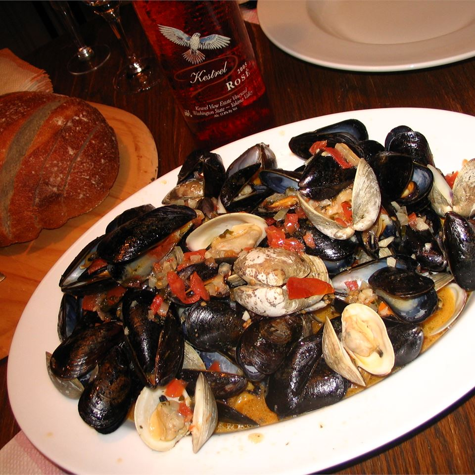 Patti's Mussels a la Mariniere Dave Flick