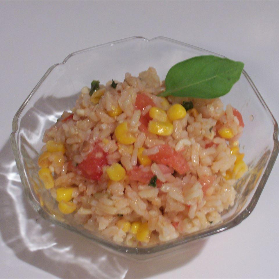 Roasted Corn and Basmati Rice Salad Chris Olesen