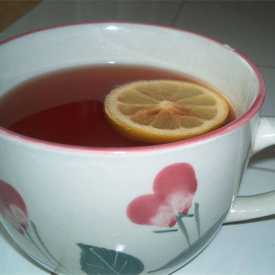 Hot Spiced Cranberry Cider