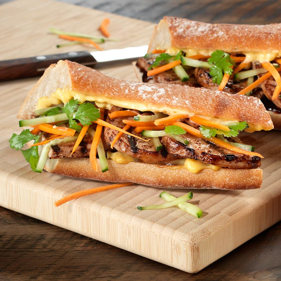 BUSH'S® Asian Banh Mi Sandwich
