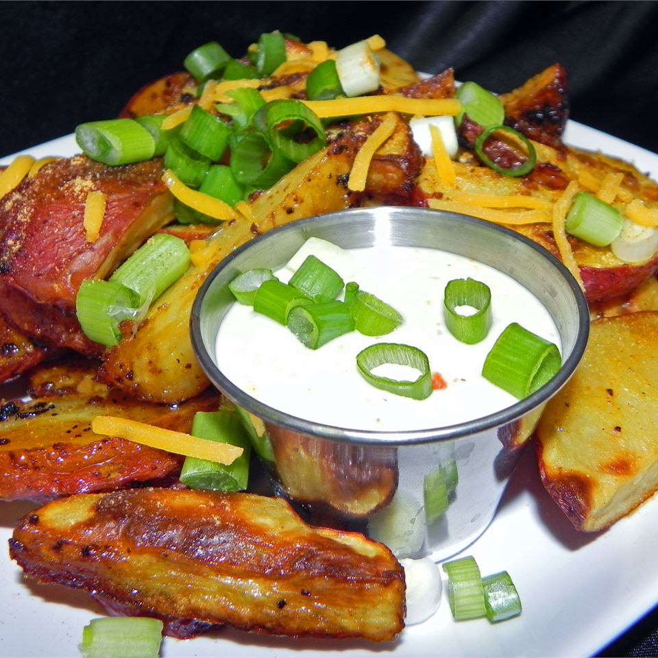 Totally Tangy Baked French Fries