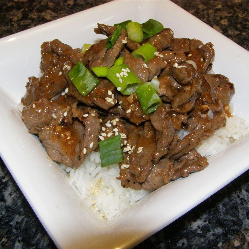 Korean Barbequed Beef aussiemum