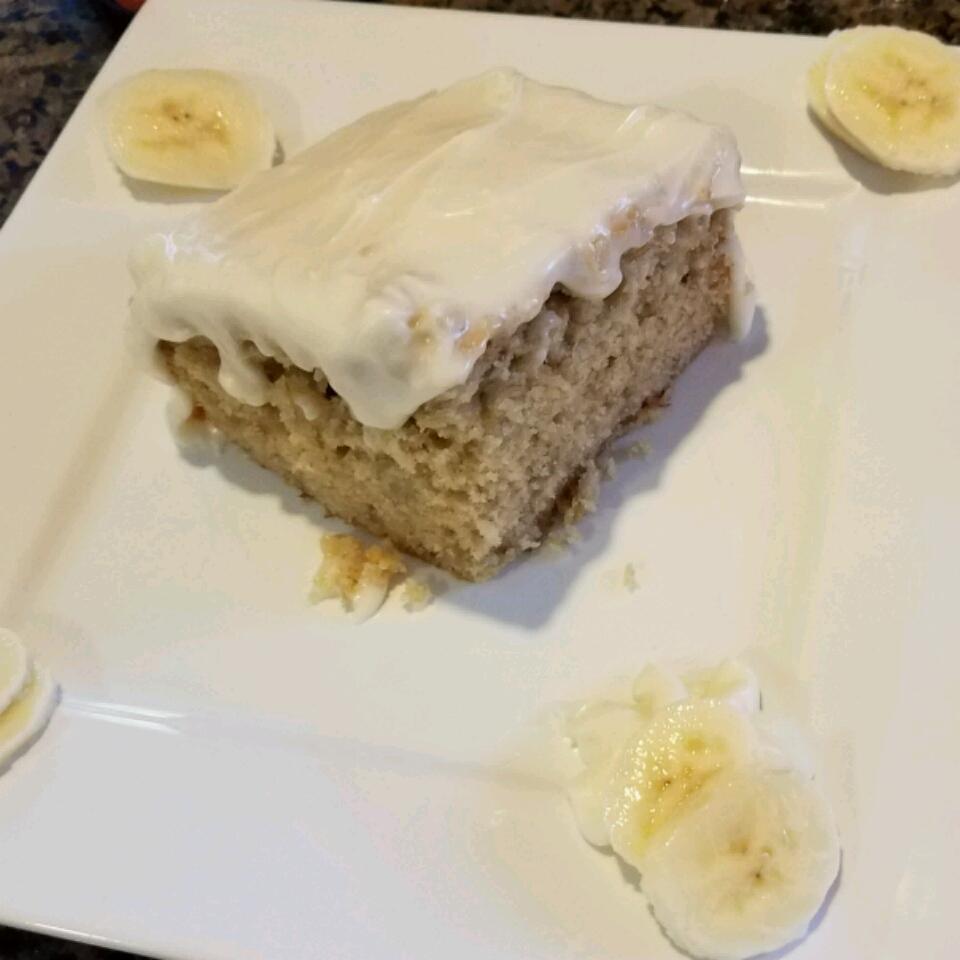 Sour Cream Banana Cake Lori Marie