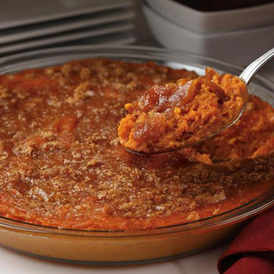 Sweet Potato Apple Butter Casserole