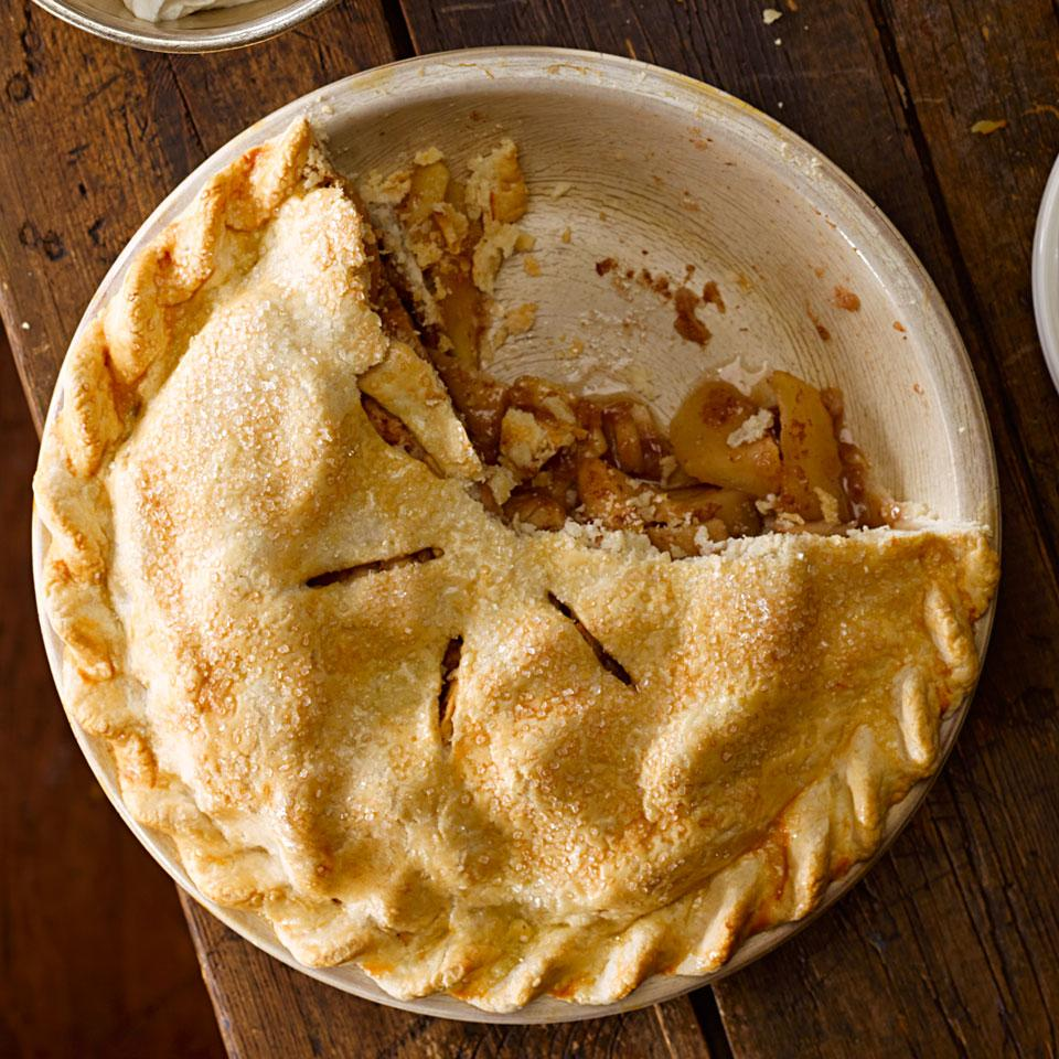 Maple-Ginger Apple Pie Mary Cleaver