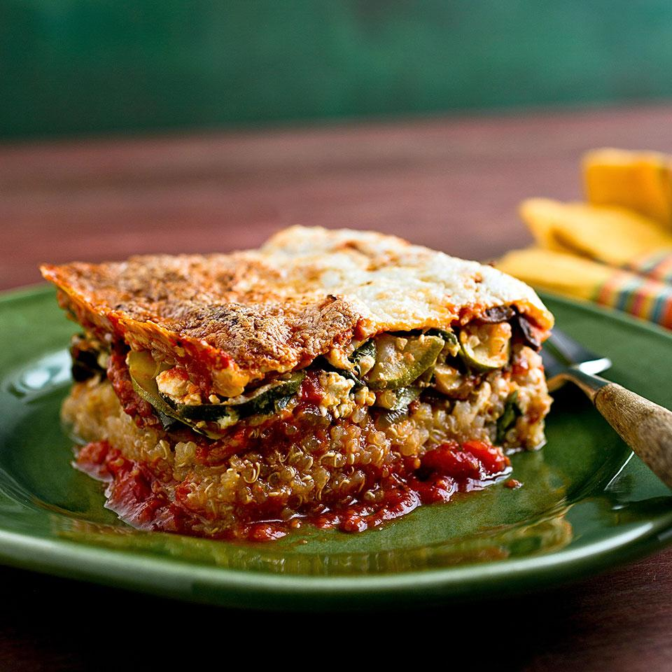 Quinoa Lasagna EatingWell Test Kitchen