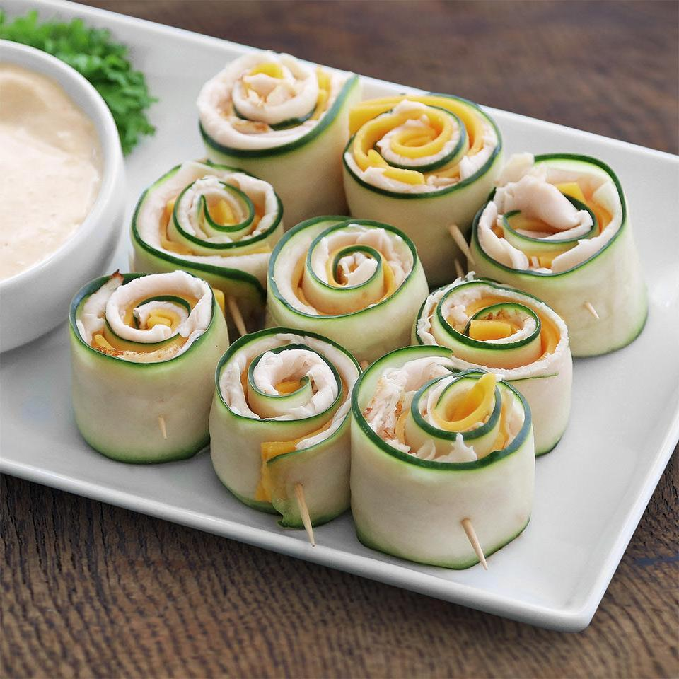 Originals Oven Roasted Turkey Cucumber Roll-Ups