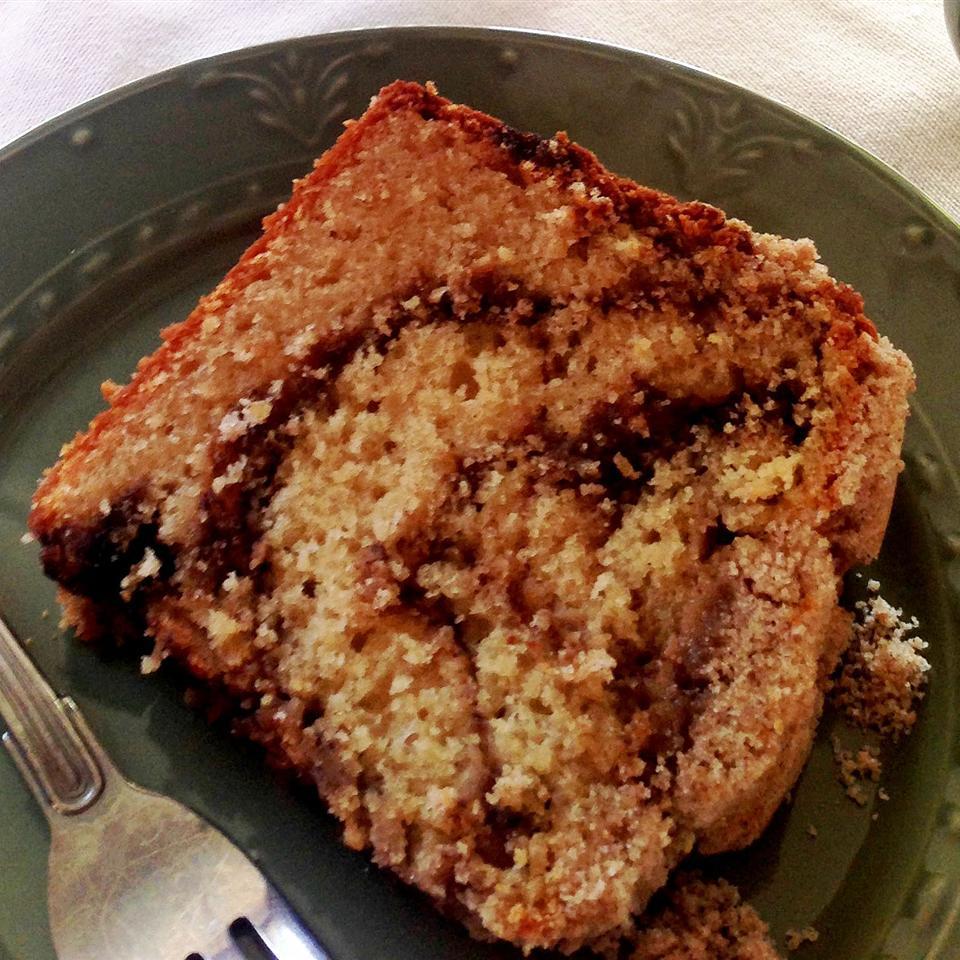 Jan's Cinnamon and Maple Swirl  Better -Cream Coffee Cake
